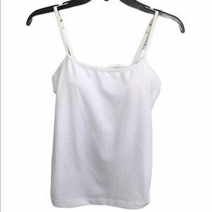 Athleta White Tank Top